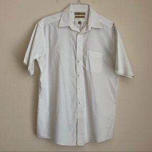 Roundtree & Yorke No-Iron Point Collar Shirt (A)